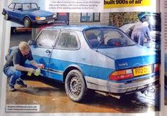 The distinctive Saab 900 is not only one of the most Iconic European cars of all time. It's also one of the most well-bullt. Saab 900, Best Build, Cars And Motorcycles, Good Things, Building, Buildings, Construction