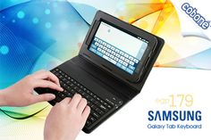 Have a fully secure stationed integrated charging and media dock with a keyboard for your Galaxy Tab 10.1 from Mobile Gallery for EGP 179 (Value EGP 230) – Maximizing your access to your tab!    احصل على جراب أنيق لجهاز جالاكسي تاب 10.1 مدعم بلوحة مفاتيح بلوتوث مقابل 179 جنيه موبايل جاليري (القيمة الأصلية 230 جنيه) – تحكم أسهل وحماية في قطعة واحدة !
