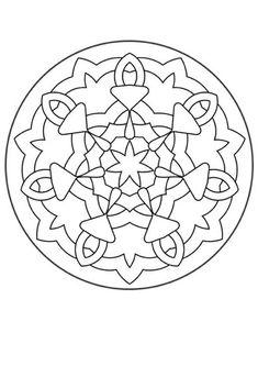 Mandalas for BEGINNERS - Mandala 140