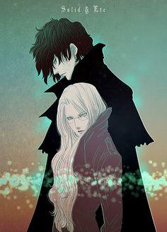 Tags: Anime, Fanart, Hellsing, Alucard (Hellsing), Integra Hellsing