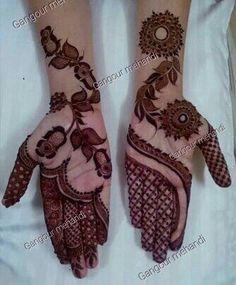 25 Latest Arabic Mehndi designs of 2018 with stunning Art Latest Arabic Mehndi Designs, Mehndi Designs For Girls, Indian Mehndi Designs, Mehndi Designs 2018, Mehndi Designs For Fingers, Stylish Mehndi Designs, Mehndi Design Pictures, Beautiful Mehndi Design, Mehandi Designs