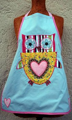 Children Apron Gift for Christmas Xmas TrickyBoo iron by trickyboo, €39.00