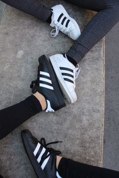 adidas, shoes, and black kép