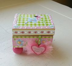 Whimsical Tooth Fairy Box by YouNeverKnowNorwood on Etsy