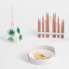 Andrea Rekalidis' ceramic desk-tidies take the form of Italian landmarks http://www.dezeen.com/tag/ceramics/