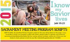 2015 Primary Program Scripts
