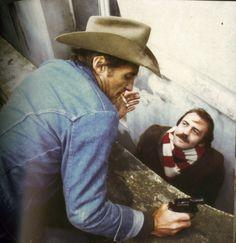 """Dennis Hopper & Bruno Ganz in """"Der Amerikanische Freund"""""""