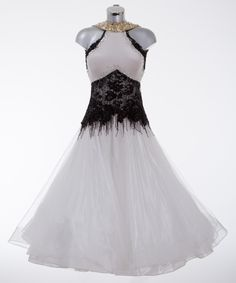 369647 Black and White Ballroom Dress | Ballroom dresses for sale | Dance dresses for sale | Ladies | DSI London