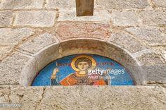 St George mosaic at church at Dobrilovina Monastery, Serbian... #donjabrezna: St George mosaic at church at Dobrilovina… #donjabrezna