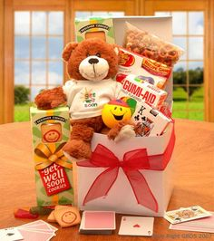 Buy this Deluxe Get Well Care Package from All About Gifts and Baskets today!