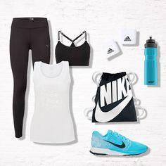 Sporty Chick - stylisch auch im Fitness-Studio! <3