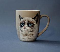 Grumpy Cat by Anna Kloza-Rozwadowska