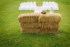 Een bruiloft op het platteland!