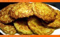 Neuveriteľne jemné zemiakové placky Vegetable Pancakes, Potato Vegetable, French Toast, Potatoes, Vegetables, Breakfast, Invite, Food, Recipes