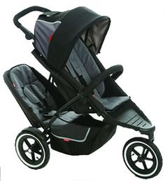 Phil & Teds Dash In-Line Double Stroller