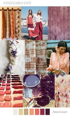 FASHION VIGNETTE: TRENDS // PATTERN CURATOR - VEGETABLE DYE . SS 2019