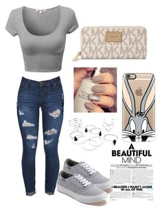 """Casual 1"" by amuh2002 on Polyvore featuring Michael Kors, Casetify and Vans"