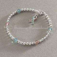 infant+loss+charms | Awareness Bracelets