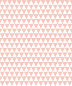 papier peint triangle rose déco chambre enfant spoonflower babayaga magazine Doodle Patterns, Fabric Patterns, Pattern Art, Pattern Design, Triangle Rose, Deco Rose, Ribbon Storage, Image Fun, Little Designs