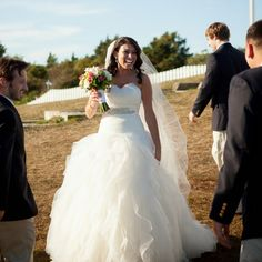 Madeleine's Daughter Blog: Meet Our Bride: Stephanie, #madeleinesdaughtermoment, #mdm, bridal gown, wedding gown,Pronovias