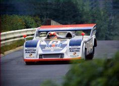 Swiss Herbert Müller in his Porsche 917/30 1974