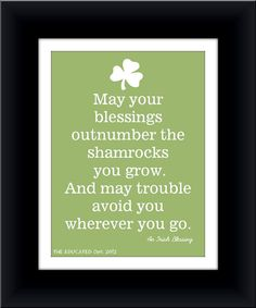 St Patricks Day Blessings #MyClassicJewelry https://www.etsy.com/shop/MyClassicJewelry