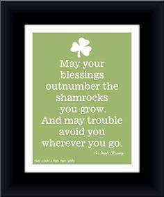 St Patricks Day Blessings