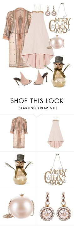 """""""Untitled #812"""" by belinda54-1 ❤ liked on Polyvore featuring River Island, Notte by Marchesa, Shea's Wildflower Company, M&Co, Chanel and Selim Mouzannar"""