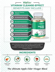 ACV Diet Pills, Fast Weight Loss, Detox & Cleanse - Appetite Suppressant + Metabolism Booster Supplements - Fat Burners for Men & Women Apple Cider Vinegar Supplements, Apple Cider Vinegar Capsules, Apple Cider Vinegar Pills, Organic Apple Cider Vinegar, Detox Cleanse For Weight Loss, Natural Detox Cleanse, Apple Cider Cleanse, Acv Diet, Aloe Vera