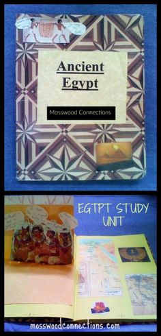 Ancient Egypt Study Unit Hieroglyphics, books, writing prompts, craft activities and more!