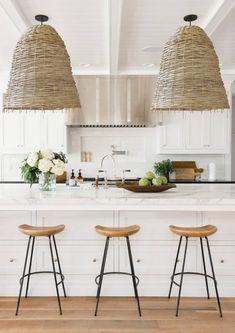 Set of 2 Michelle rattan pendant light 2020 interior design trending my bali living Kitchen Lamp Shades, Decor, Furniture, Home Decor Kitchen, Interior, Rattan Pendant Light, Mid Century Modern Furniture, Home Decor, Living Room Furniture Sofas