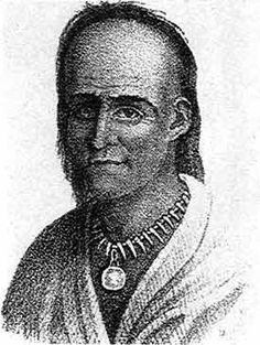 Little Turtle, Miami chief, leader of Native American forces in the Battle of the Wabash, the most decisive American Indian victory of the Indian Wars