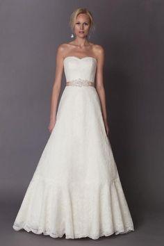 Wholesale A-Line Wedding Dresses - Buy Hot Sale Sexy 2015 Alyne A-Line Taffeta Strapless Wedding Dresses Sleeveless Floor Length Sweep Train Applique Bridal Gowns, $118.33 | DHgate.com