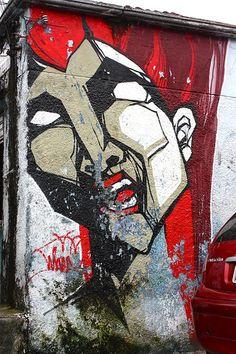 Street art   Mural (São Paulo, Brazil) by Whip