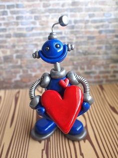 Commission: Reuben the Robot by HerArtSheLoves, via Flickr