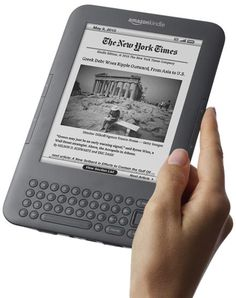 Kindle Wireless e-Reader, Display w/E-Ink Pearl Technology Amazon Kindle, Amazon Gadget, Wifi, E Ink Display, E Reader, Summer Reading Program, Travel Items, Evernote, Books To Buy