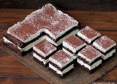Ciasto bajeczne - Obżarciuch Polish Recipes, Eat Cake, Tiramisu, Chocolate, Ale, Food And Drink, Menu, Favorite Recipes, Cooking