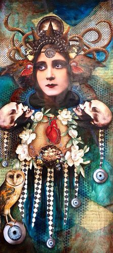 Sumptuous Siren-Ann Renee | by Andrea Matus