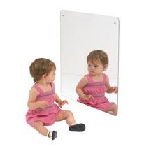 """23 3/8"""" Square Safety Mirror"""