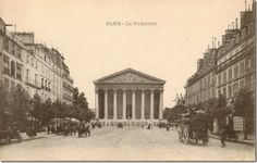 vintage Paris postcards 1 of 6