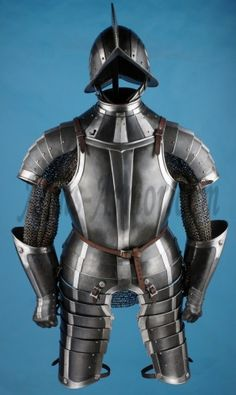 Complete armor Medieval Weapons, Medieval Knight, Ancient Armor, Battle Dress, Warrior 1, Knight Armor, Medieval Costume, Suit Of Armor, Body Armor