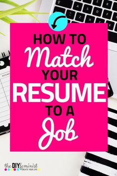 Learn how to tailor a resume to a job with this guide from a former career professional. Speak directly to the position and company with these modern tips! Resume Help, Job Resume, Resume Tips, Resume Words, Resume Writing, Writing Tips, Job Interview Preparation, Job Interview Tips, Interview Questions