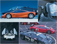 McLaren F1 - The Design