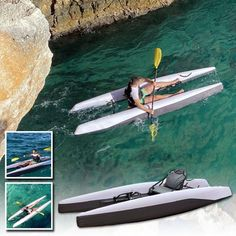 Camping Life, Camping Hacks, Outdoor Fun, Outdoor Camping, Inflatable Kayak, Cool Gadgets To Buy, Water Toys, Cool Inventions, Kayaking