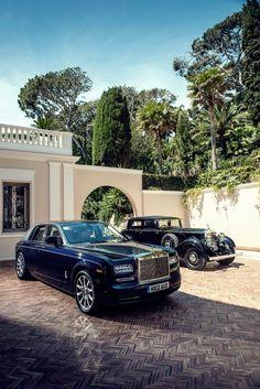 Rolls Royce Ghost & it's ancestor.