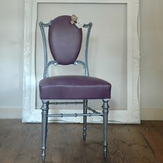 Leather Corsage Chair from Ghost Furniture