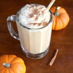 Super easy Pumpkin Pie Milkshake