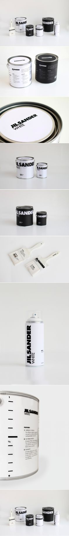 Student Project - Jil Sander Paint #packaging #design | by Samah Alrajhi