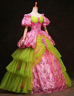 vendita steampunk®top maniche lunghe vestito dalla principessa del vestito da partito vittoriano abiti da festa da ballo reale