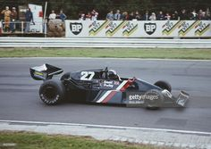 David Purley of Great Britain drives the #27 Lec-Cosworth CRP2 Ford -Cosworth DFV V8 during the Aurora AFX F1 Fuji Tapes Trophy race on 27 August 1979 at the Brands Hatch circuit in Fawkham, Great Britain.